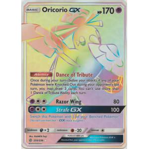 Oricorio-GX (Hyper Rare) - 255/236
