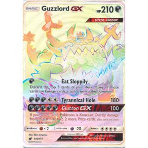 Guzzlord-GX (Hyper Rare) - 116/111