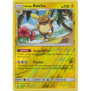 Alolan Raichu - 31/111 (Reverse Foil)
