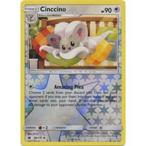 Cinccino - 86/111 (Reverse Foil)
