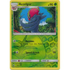 Accelgor - 9/111 (Reverse Foil)