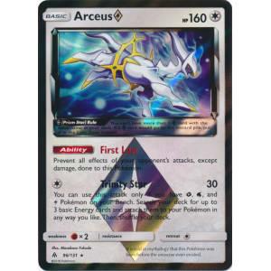 arceus prism star 96 131
