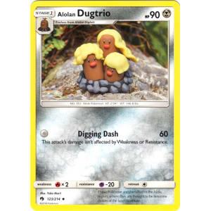 Alolan Dugtrio - 123/214