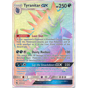 Tyranitar-GX (Hyper Rare) - 223/214