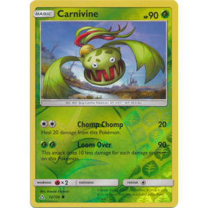 Carnivine - 12/156 (Reverse Foil)