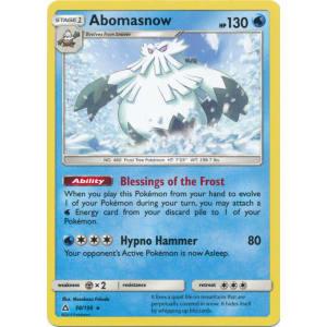 Abomasnow - 38/156