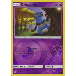 Croagunk - 56/156 (Reverse Foil)
