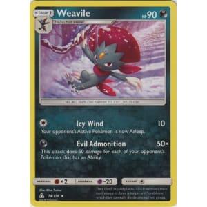 Weavile - 74/156