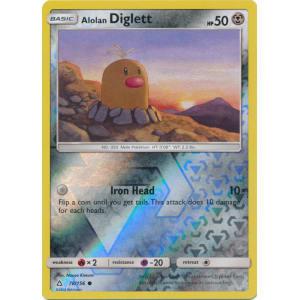Alolan Diglett - 78/156 (Reverse Foil)