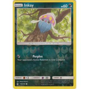 Inkay - 118/214 (Reverse Foil)