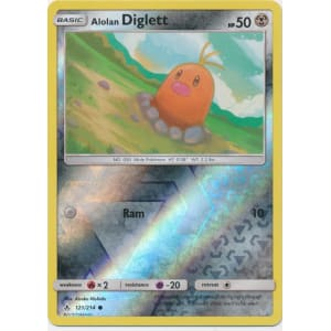 Alolan Diglett - 121/214 (Reverse Foil)