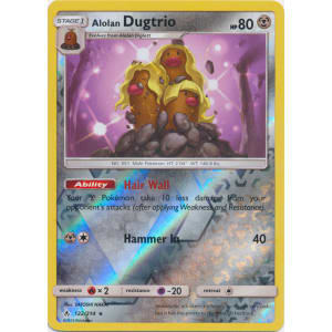 Alolan Dugtrio - 122/214 (Reverse Foil)
