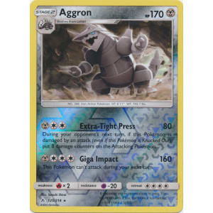 Aggron - 125/214 (Reverse Foil)