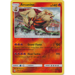 Arcanine - 22/214 (Reverse Foil)