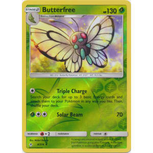 Butterfree - 4/214 (Reverse Foil)