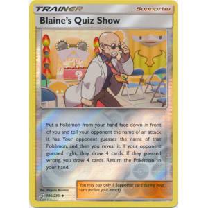 Blaine's Quiz Show - 186/236 (Reverse Foil)