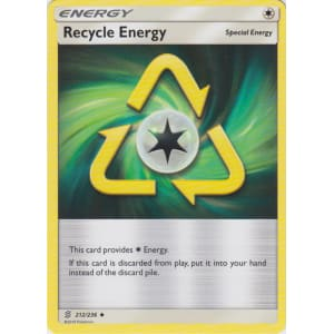 Recycle Energy - 212/236