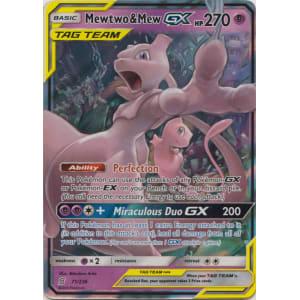 Mewtwo & Mew-GX - 71/236