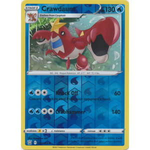 Crawdaunt - 039/163 (Reverse Foil)