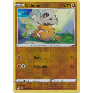 Cubone - 069/163 (Reverse Foil)