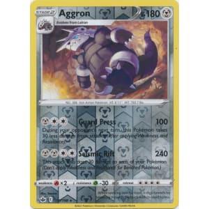 Aggron - 111/198 (Reverse Foil)