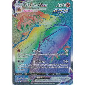 Blaziken VMAX (Hyper Rare) - 200/198