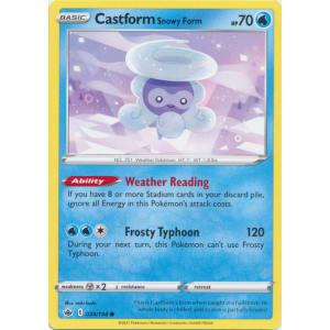 Castform Snowy Form - 034/198