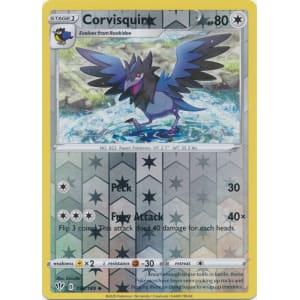 Pokemon Card Darkness Ablaze 155//189 Corvisquire Reverse Holo Uncommon