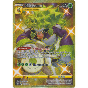 Rillaboom 197//189 GOLD