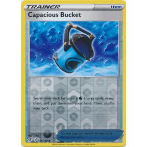 Pokemon TCG SS Rebel Clash 156//192 Mint//NM Capacious Bucket Reverse Holo