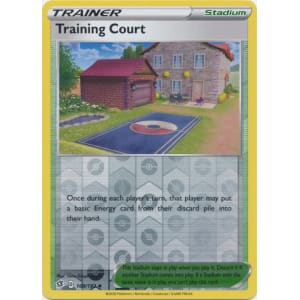 Training Court - 169/192 (Reverse Foil)