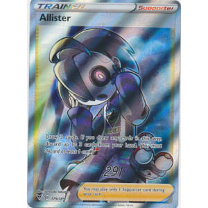 Allister (Full Art) - 179/185