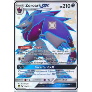 Zoroark-GX (Shiny) - 77a/73