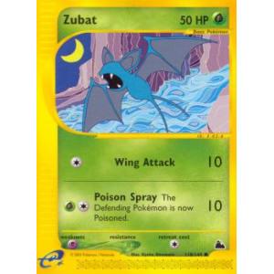 Zubat - 118/144
