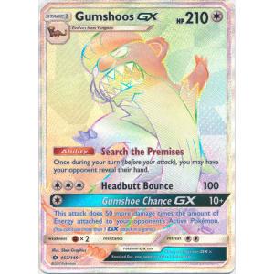 Gumshoos-GX (Hyper Rare) - 157/149