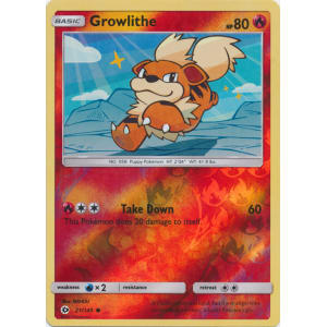 Growlithe - 21/149 (Reverse Foil)
