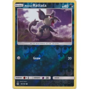 Alolan Rattata - 76/149 (Reverse Foil)