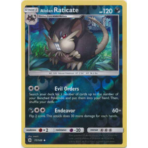 Alolan Raticate - 77/149 (Reverse Foil)