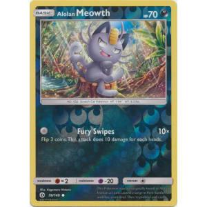 Alolan Meowth - 78/149 (Reverse Foil)