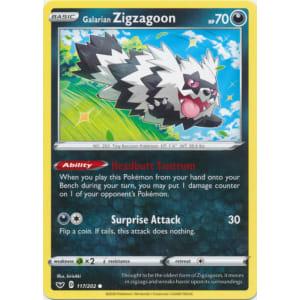 Galarian Zigzagoon - 117/202
