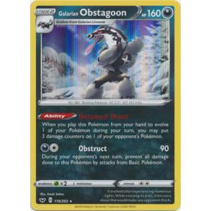 Galarian Obstagoon (Holo) - 119/202
