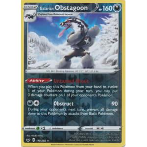 Galarian Obstagoon - 119/202 (Reverse Foil)