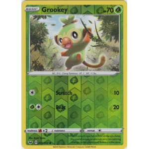 Grookey - 011/202 (Reverse Foil)