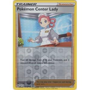 Pokemon Center Lady - 176/202 (Reverse Foil)