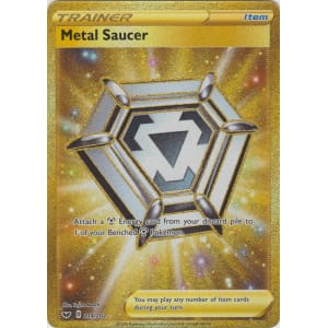 Metal Saucer (Secret Rare) - 214/202