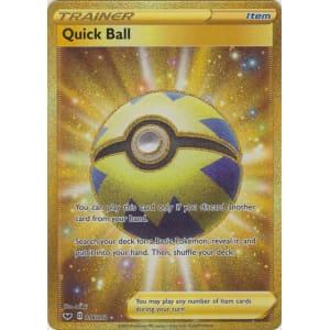 Quick Ball (Secret Rare) - 216/202