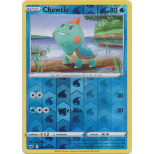 Chewtle - 060/202 (Reverse Foil)