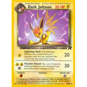 Dark Jolteon - 38/82