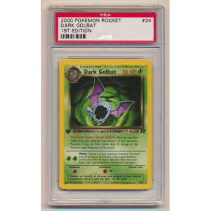 Dark Golbat - Graded Team Rocket First Edition 24/82