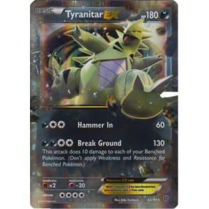 Tyranitar-EX - 42/98